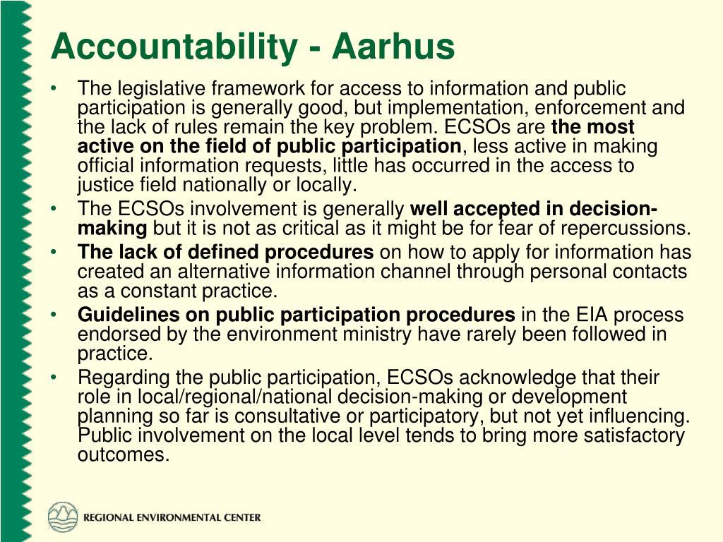Accountability - Aarhus