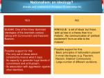 nationalism an ideology details and comments in european dictatorships 36