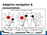 adaptive navigation presentation16