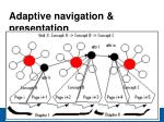 adaptive navigation presentation17