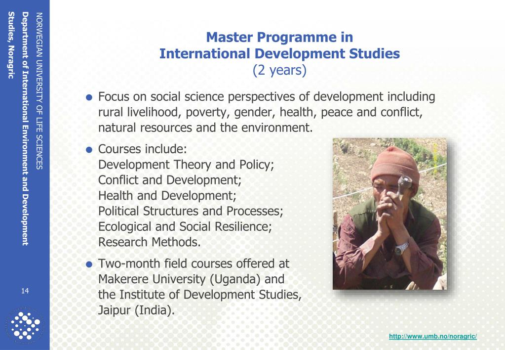 Master Programme in