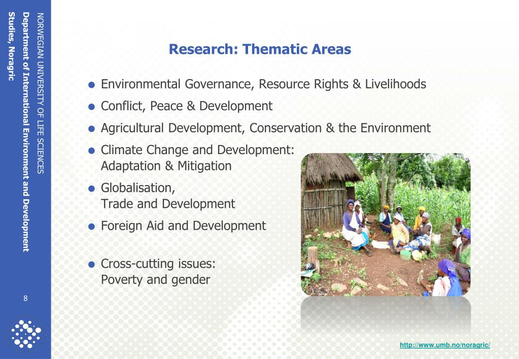 Research: Thematic Areas
