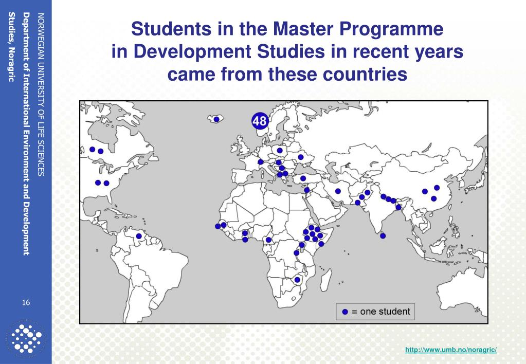 Students in the Master Programme
