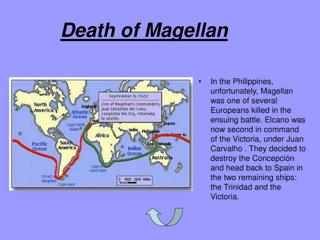 Death of Magellan