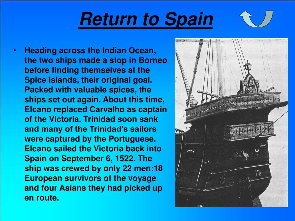 Return to Spain