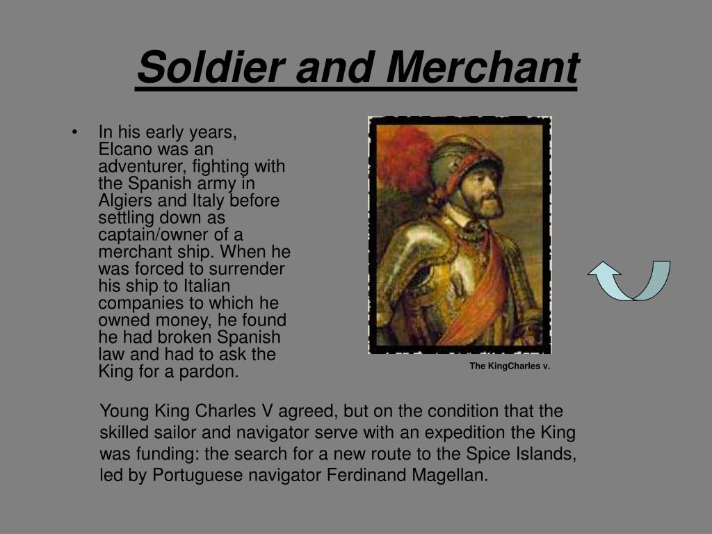 Soldier and Merchant