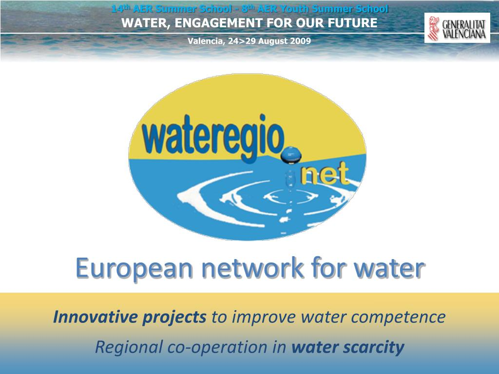 European network for water