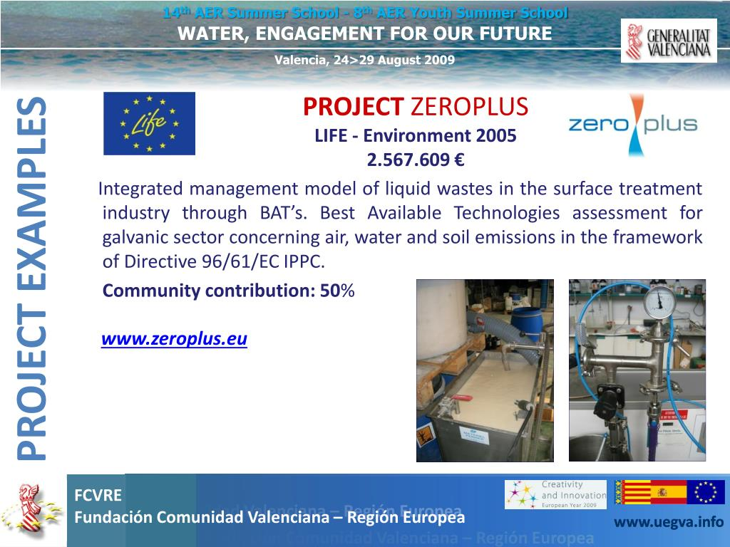 Integrated management model of liquid wastes in the surface treatment industry through BAT's. Best Available Technologies assessment for galvanic sector concerning air, water and soil emissions in the framework of Directive 96/61/EC IPPC.