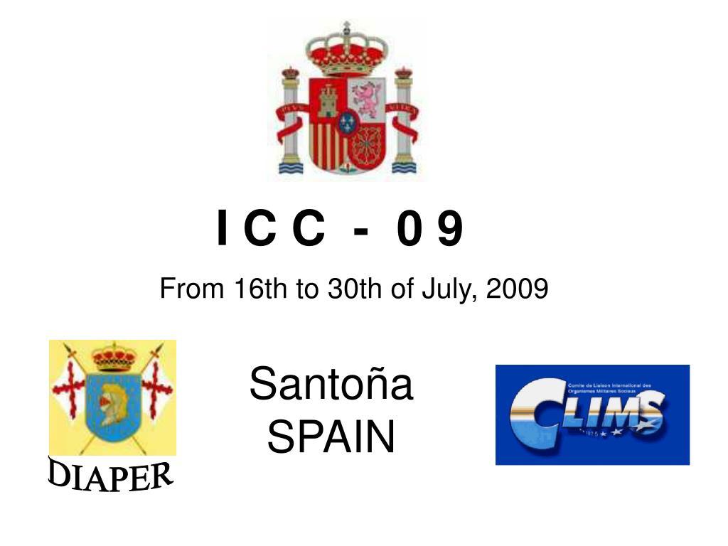 I C C  -  0 9