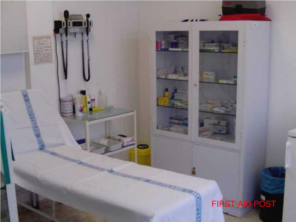 FIRST-AID POST