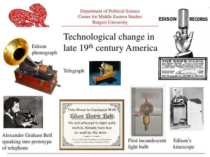 Technological change in