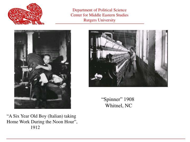 """""""Spinner"""" 1908"""