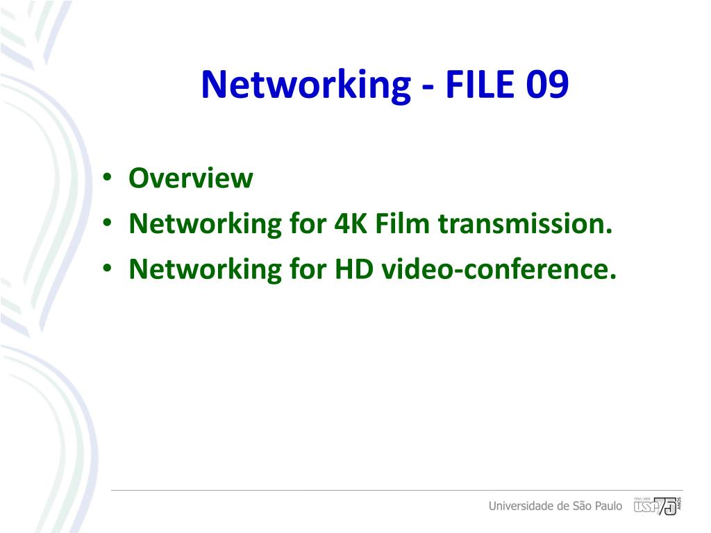 Networking - FILE 09