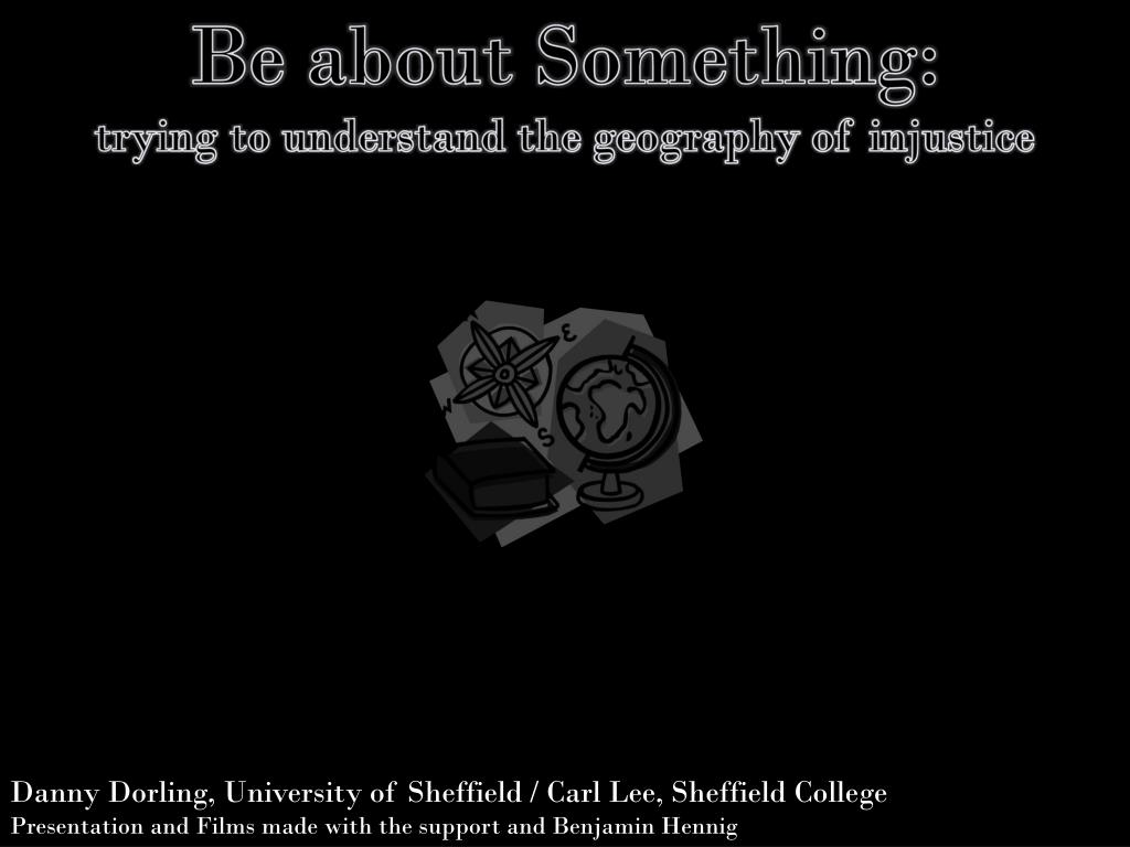 Be about Something: