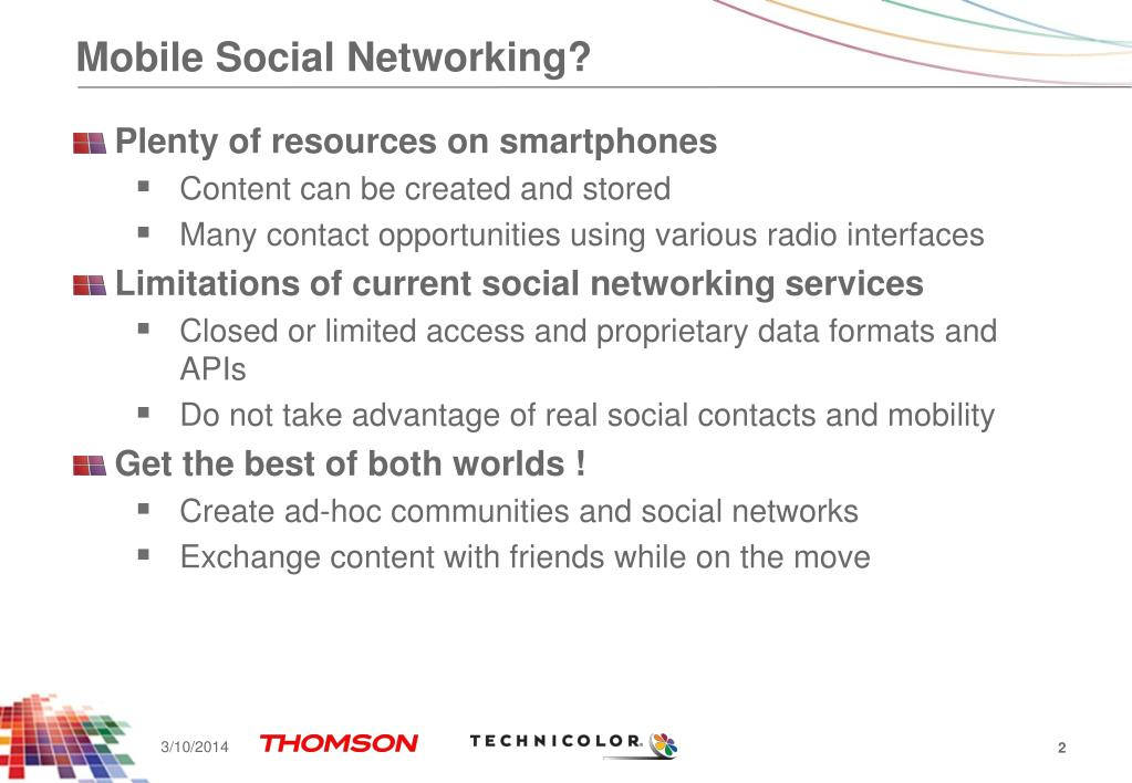 Mobile Social Networking?