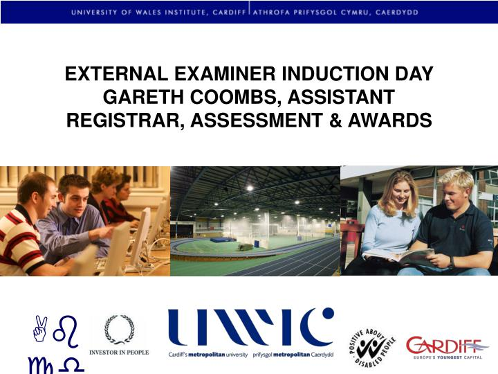 EXTERNAL EXAMINER INDUCTION DAY