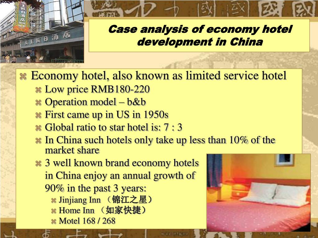 Case analysis of economy hotel development in China