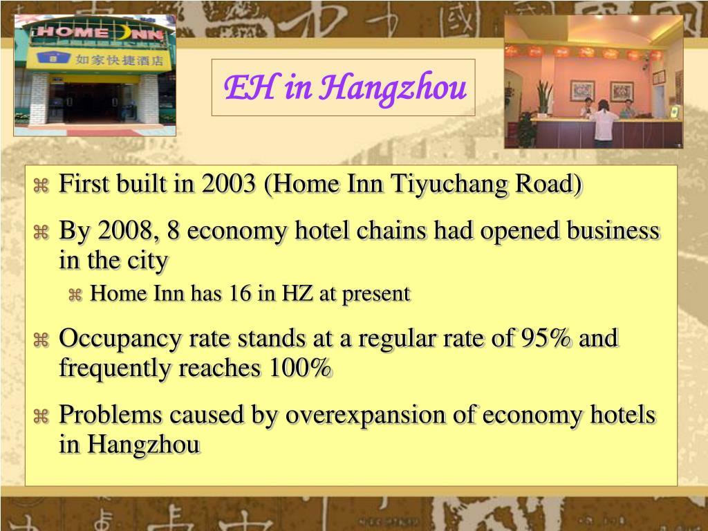 EH in Hangzhou