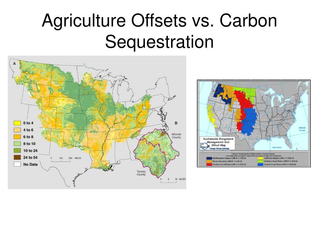 Agriculture Offsets vs. Carbon Sequestration