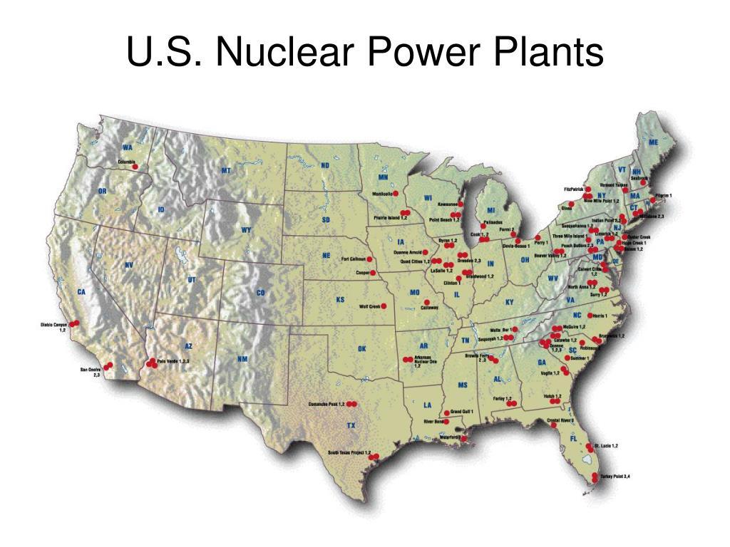 U.S. Nuclear Power Plants