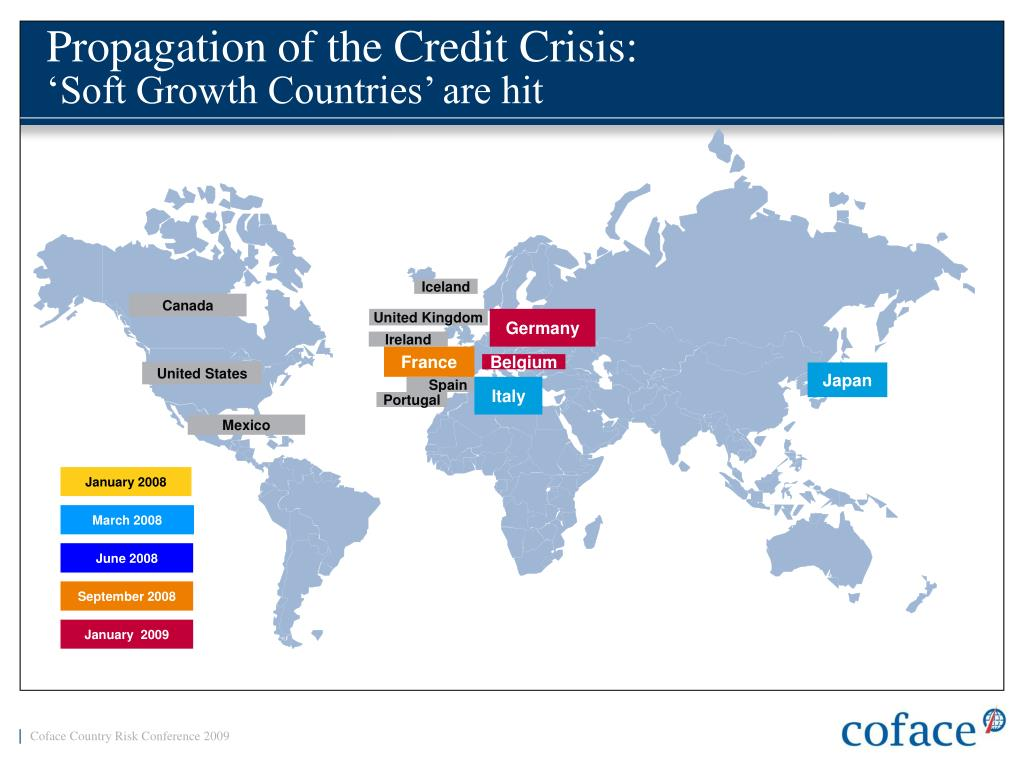 Propagation of the Credit Crisis: