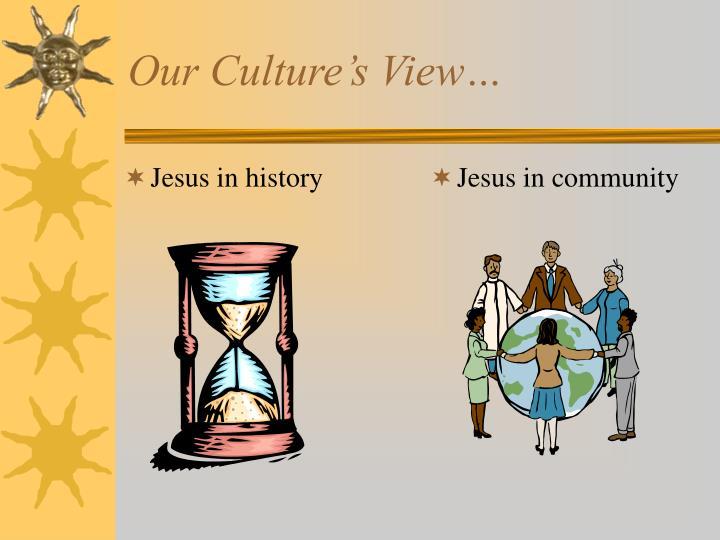 Jesus in history