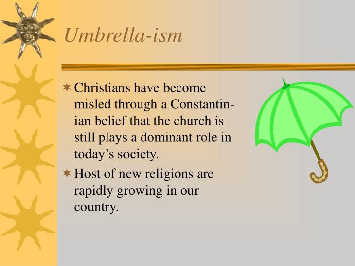 Umbrella-ism