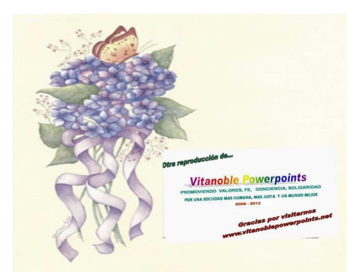 Otra edición y publicación de....    Vita Noble Powerpoints
