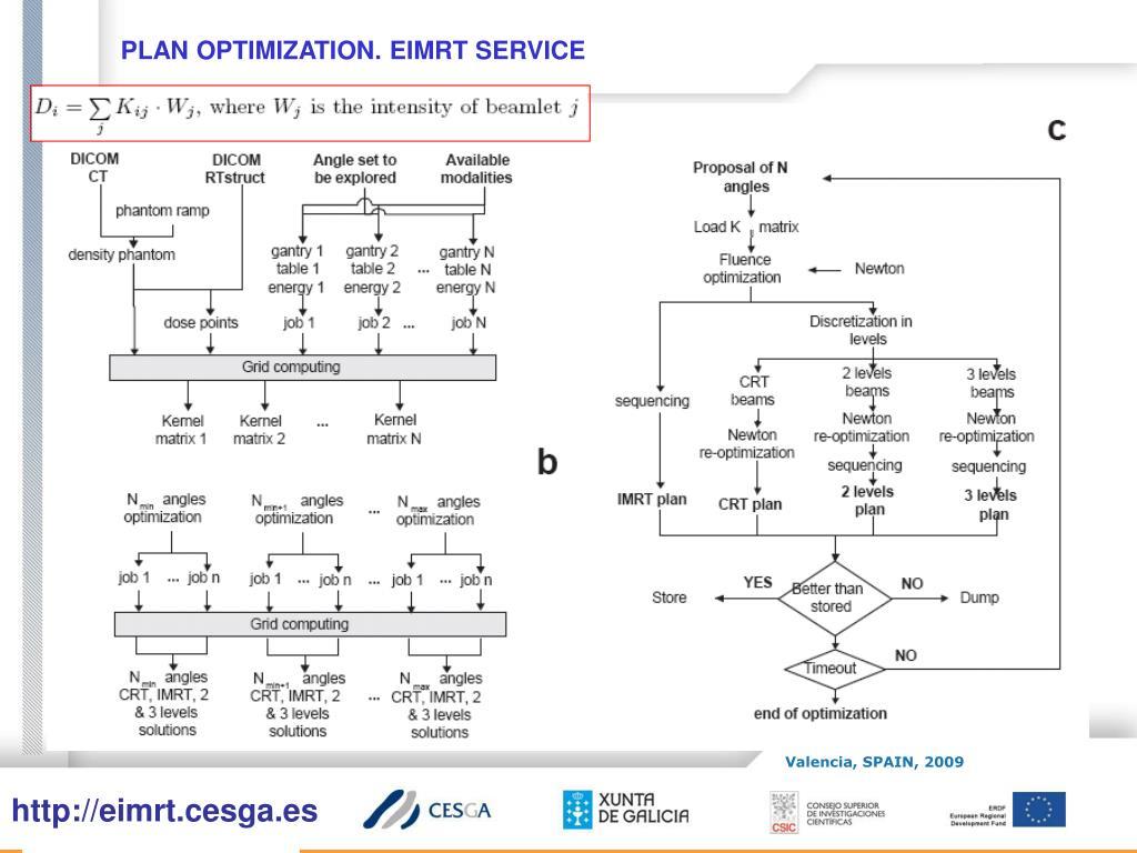 PLAN OPTIMIZATION. EIMRT SERVICE