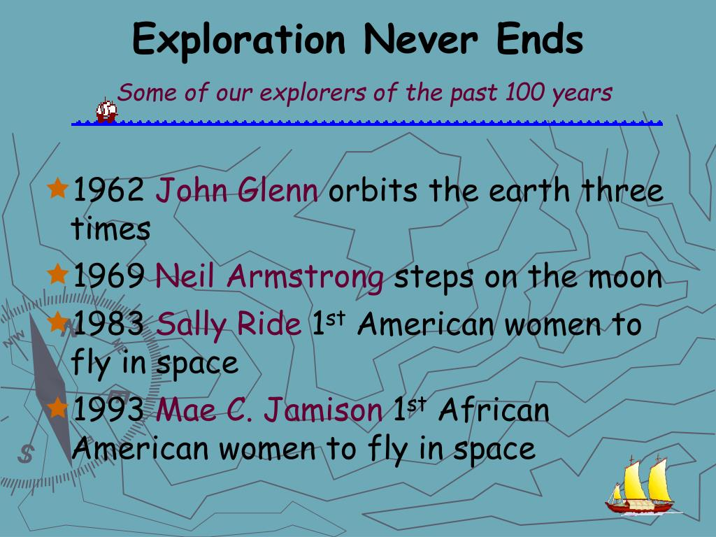 Exploration Never Ends