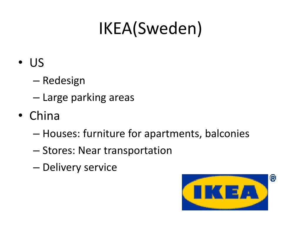 IKEA(Sweden)