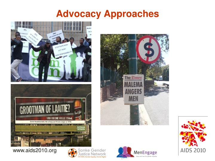 Advocacy Approaches