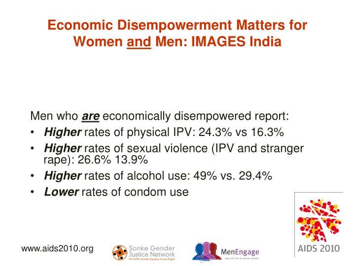 Economic Disempowerment Matters for Women