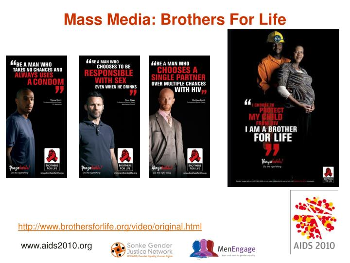 Mass Media: Brothers For Life