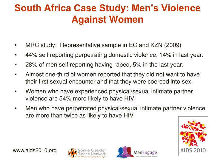 South Africa Case Study: Men's Violence Against Women