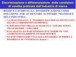 discriminazione e differenziazione delle condizioni di vendita praticate dall industria di marca5
