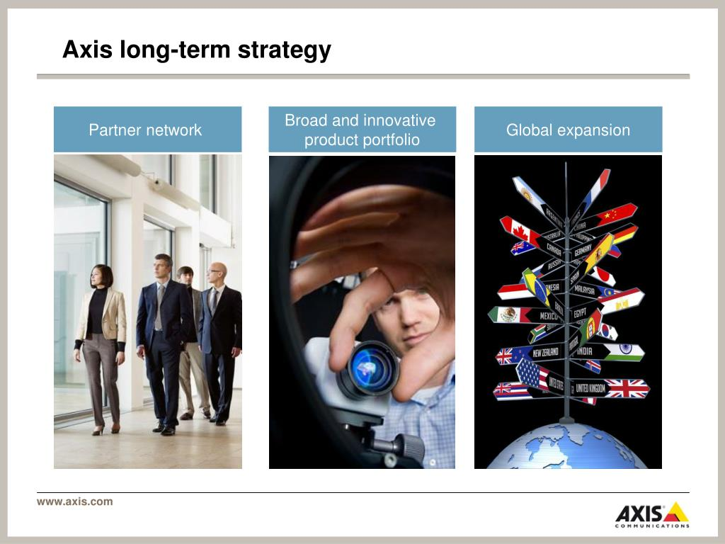 Axis long-term strategy