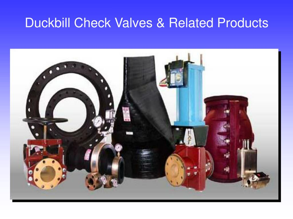 Duckbill Check Valves & Related Products