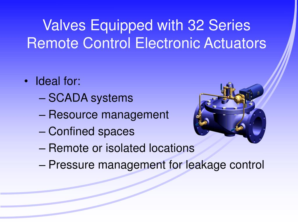 Valves Equipped with 32 Series