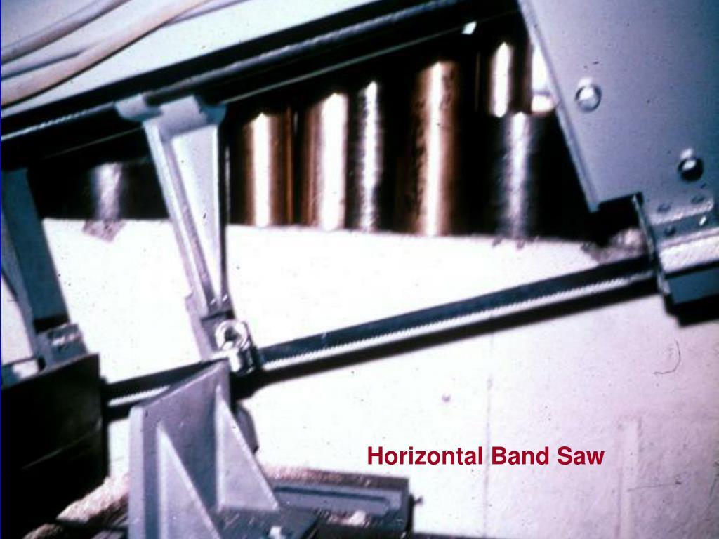 Horizontal Band Saw