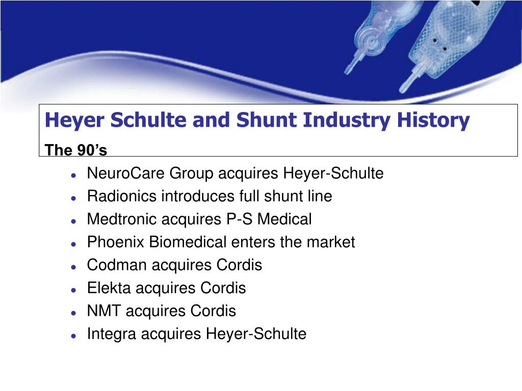 Heyer Schulte and Shunt Industry History