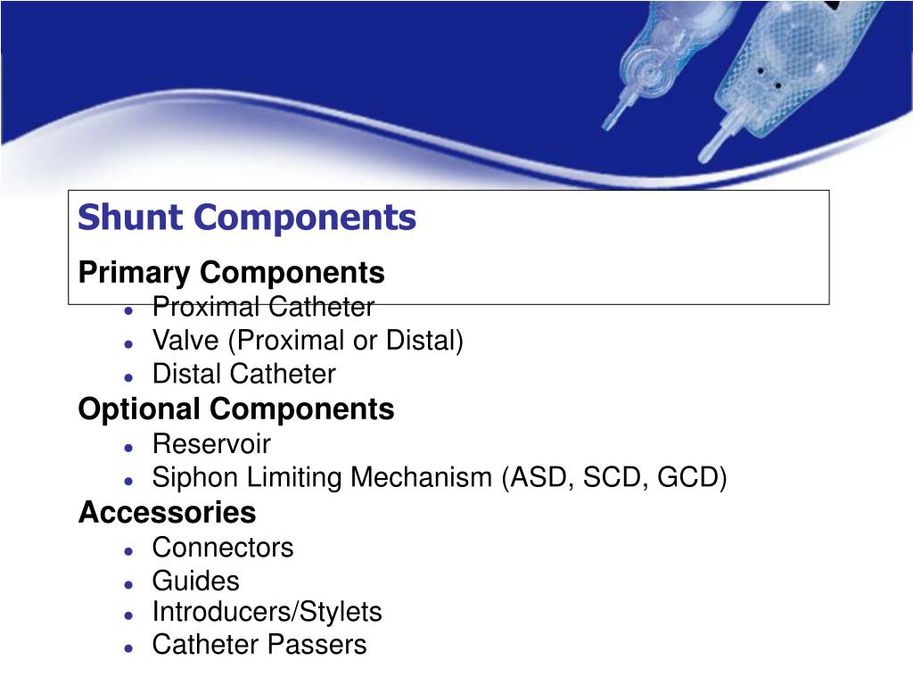 Shunt Components