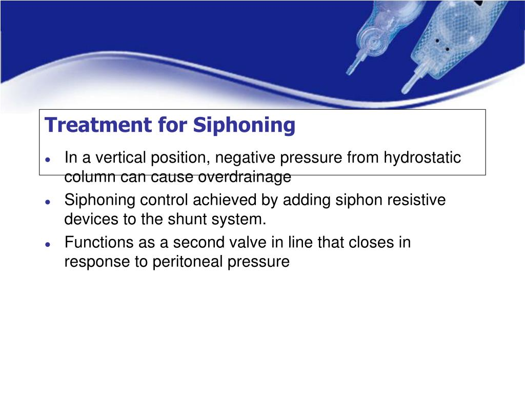 Treatment for Siphoning