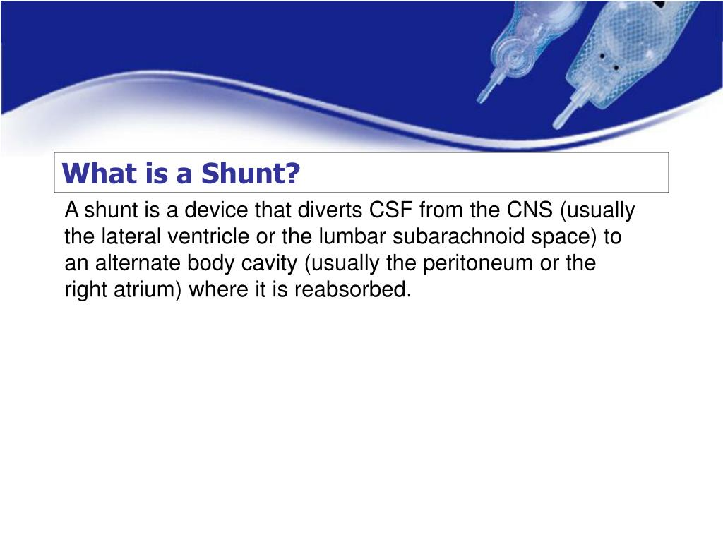 What is a Shunt?
