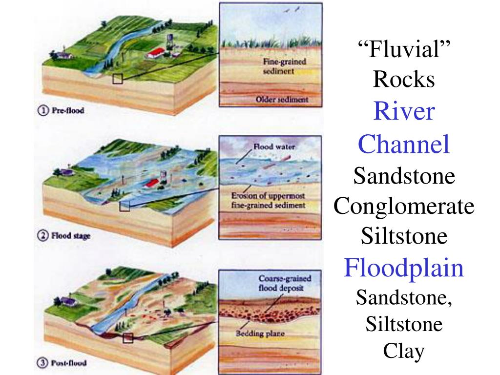 """""""Fluvial"""" Rocks"""