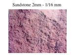 sandstone 2mm 1 16 mm