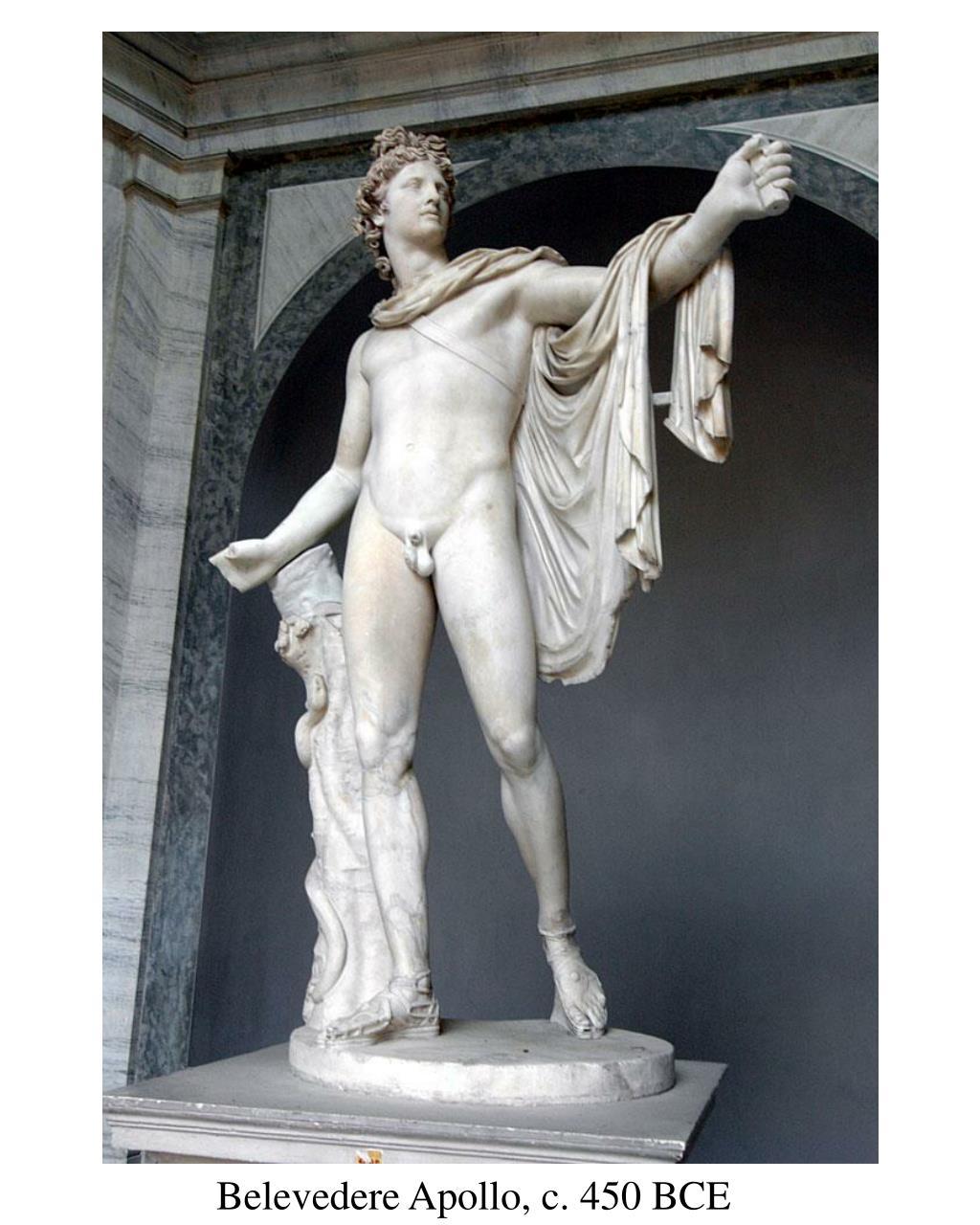 Belevedere Apollo, c. 450 BCE