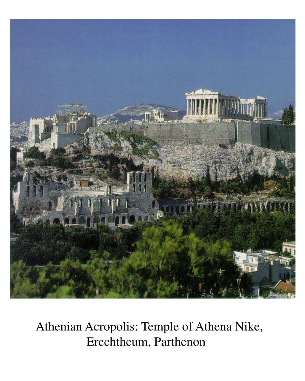 Athenian Acropolis: Temple of Athena Nike,