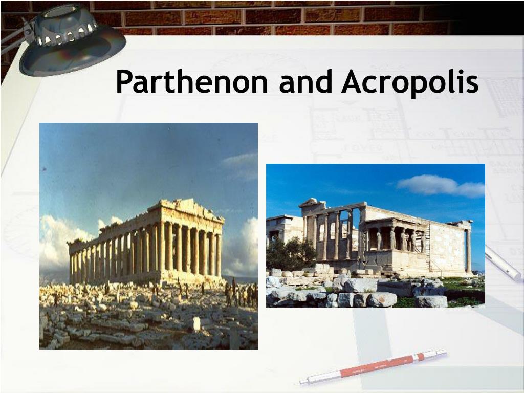 Parthenon and Acropolis