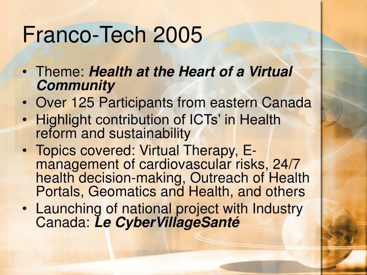 Franco-Tech 2005